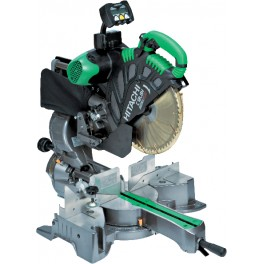 HITACHI C12LSH Slide compound miter saw with display