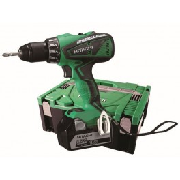Cordless driver drill with brushless motor HITACHI DS18DBEL