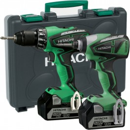 Cordless kit combo HITACHI KC18DBEL